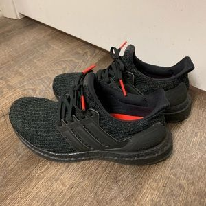 Ultraboost adidas black womens 6.5 (mens 5)